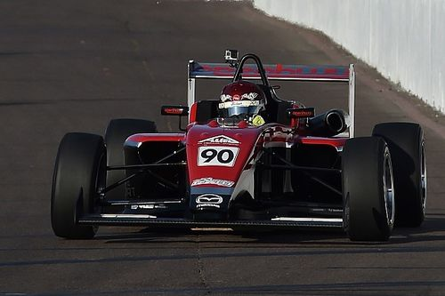 Toronto USF2000: Canadian rising star Thompson takes pole