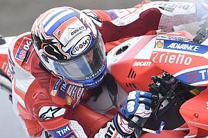 MotoGP Reactions Dovizioso ungkap sulitnya melawan Marquez