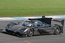 Mazda Team Joest, Donington Park'ta teste çıktı