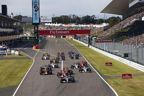 Hoe laat begint de Formule 1 Grand Prix van Japan?