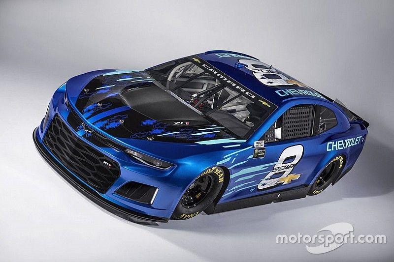 Chevrolet unveils 2018 Camaro ZL1 NASCAR race car for Cup Series