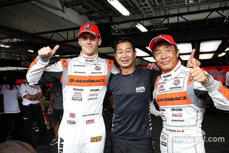 【スーパーGT】第5戦予選GT300:55号車ARTA、圧巻ラップでPP獲得