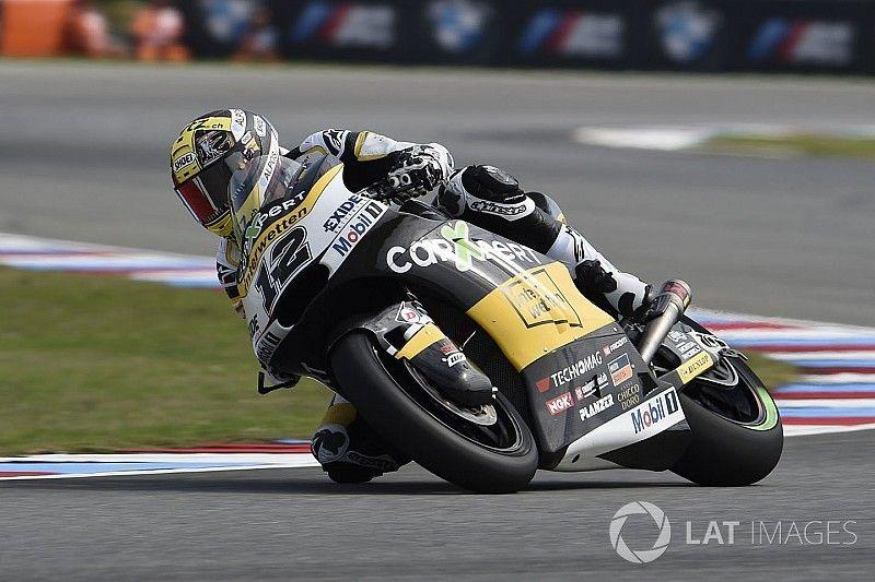 Brno Moto2: Luthi dominates six-lap sprint in the rain