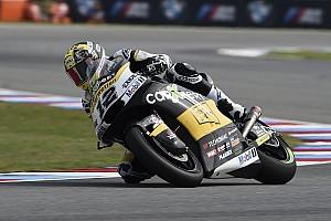 Moto2 Reporte de la carrera Moto2: Luthi domina un sprint de seis vueltas bajo la lluvia