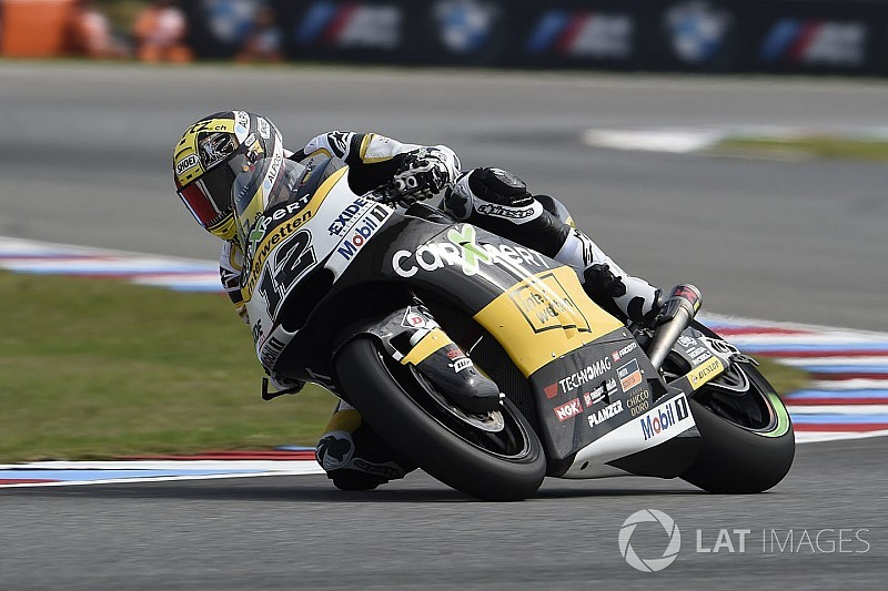 Brno Moto2: Luthi dominates six-lap sprint in the rain