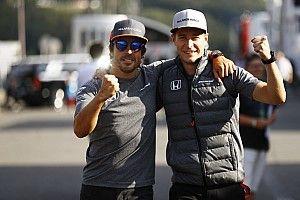 """La colonna di Vandoorne: """"Felice che Alonso rimanga alla McLaren"""""""