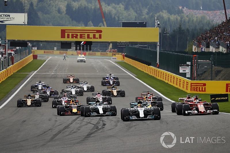 Formel 1 2017 in Spa: Das Rennergebnis in Bildern