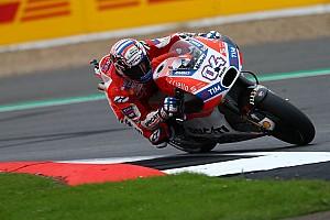 MotoGP Репортаж з гонки Гран Прі Британії: Довіціозо виграв гонку, Маркес зійшов