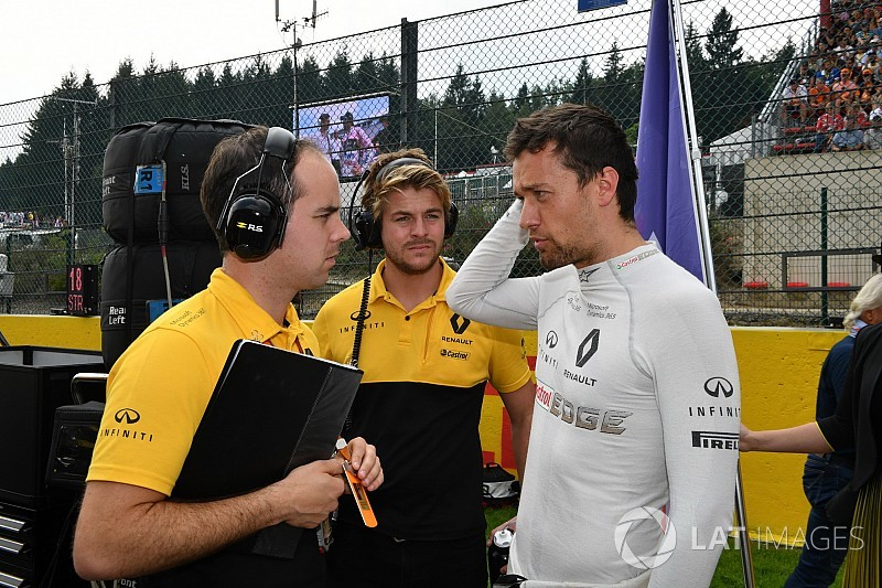 """Palmer was """"like a different guy"""" at Spa - Renault"""