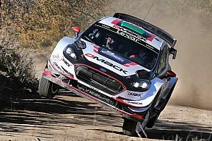 WRC Yarış ayak raporu Arjantin WRC: Evans sorun yaşadı ancak hâlâ lider