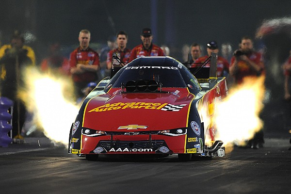 NHRA C. Force, Millican and Coughlin Jr. lead qualifying at the zMax Dragway