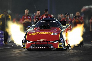 NHRA Qualifying report C. Force, Millican and Coughlin Jr. lead qualifying at the zMax Dragway