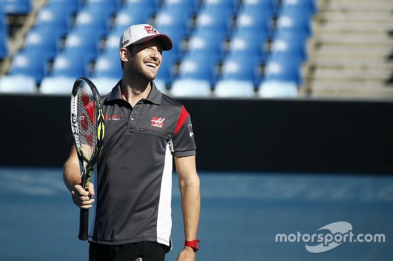 Grosjean compara su racha negativa con la del tenista Djokovic