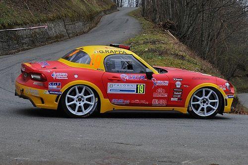 CIR: Totò Riolo e Gianfranco Rappa su Abarth 124 al Rallye Sanremo