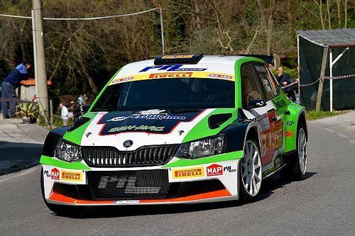 Luca Rossetti al via del Rally Due Valli: prenderà il posto di Perico