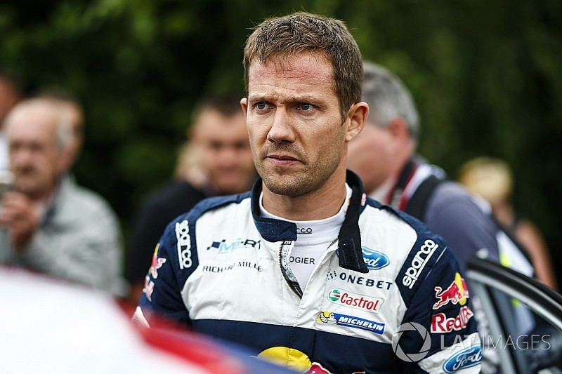 Ogier protagonista di un brutto incidente in un test in Finlandia