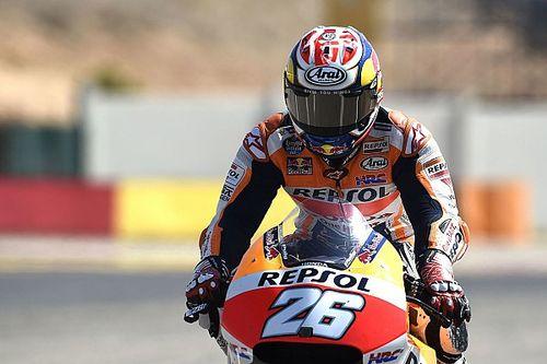 """Pedrosa a Rossi: """"No creo que hiciera falta llevarme hasta la tierra"""""""