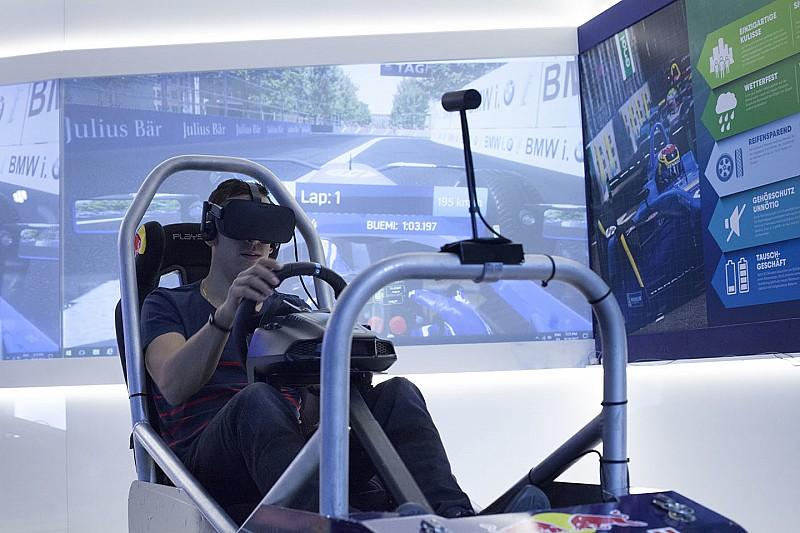 Virtually Live, partita la caccia al gamer più veloce di… Buemi!