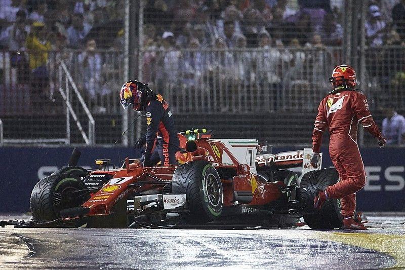 Verstappen says Vettel did not apologise for crash