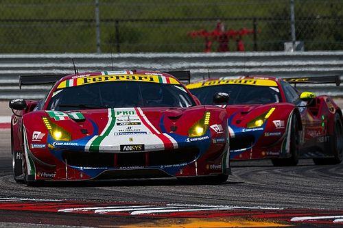 Ferrari mantiene su alineación de pilotos para el WEC