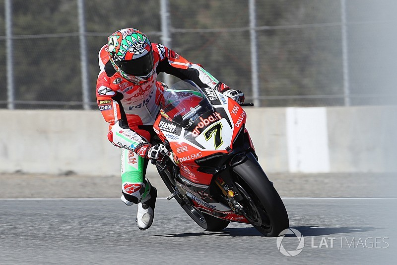 Ducati: buoni passi avanti per Davies e Melandri nei test del Lausitzring