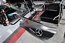 Технический брифинг: «дымоход» Mercedes W08
