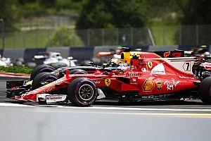 Le début de course a écarté Räikkönen du podium