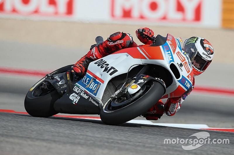 """Lorenzo: """"Ha ido bien, estoy más cerca de las otras Ducati"""""""
