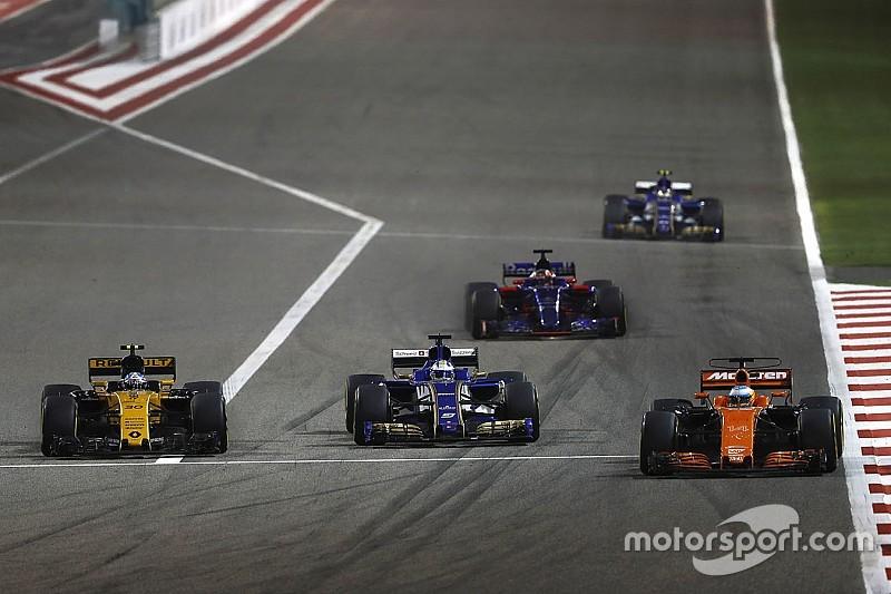 """Alonso dépassé par des F1 """"à 300, 400m"""" avant les lignes droites"""