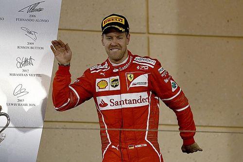 """Vettel: """"Meternos entre los Mercedes fue la clave"""""""