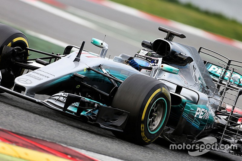 【F1】合同テスト3日目午前:ボッタス最速。マクラーレン28周走行