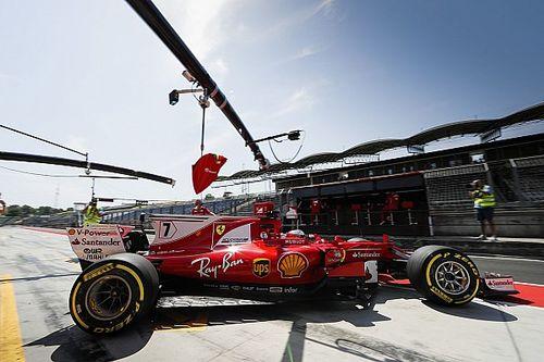 """Test Hungaroring, Raikkonen: """"Ora guido la Rossa proprio come voglio"""""""