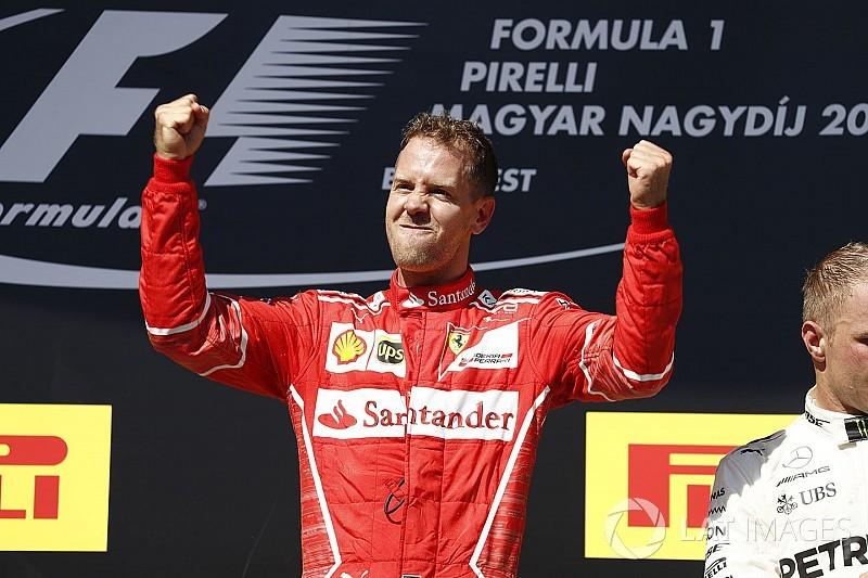 """Vettel: Yaz arasına lider girmek """"rüya gibi"""""""