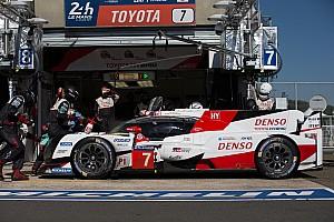 Le Mans Análise Confusão nos boxes provocou quebra da Toyota em Le Mans