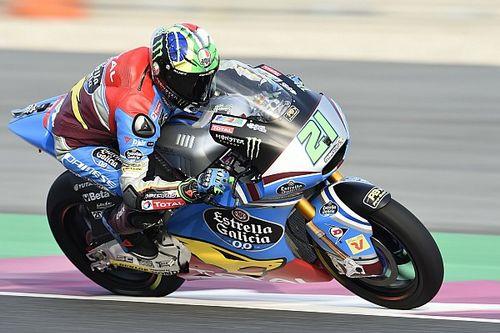 Moto2: Morbidelli sluit eerste dag met beste tijd af