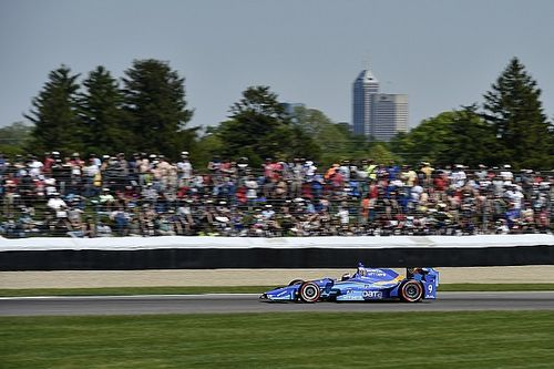 Dixon satisfied he and Ganassi maximized their car in the Indy GP