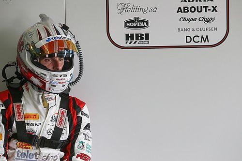 Alex Fontana alla 1000 Km del Paul Ricard preparando Spa