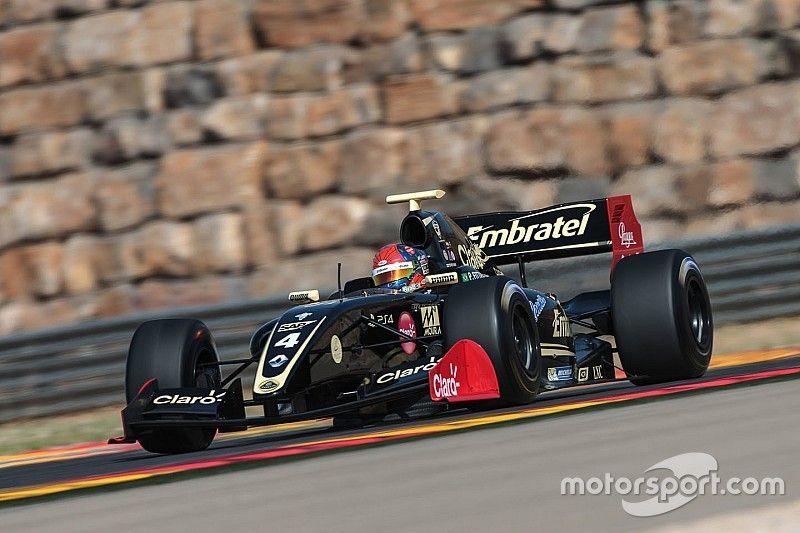 Aragon F3.5: Fittipaldi scores eighth pole of 2017
