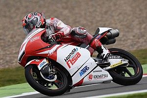 【Moto3】予選:鳥羽海渡「リヤの感触が良くなく、攻めきれなかった」