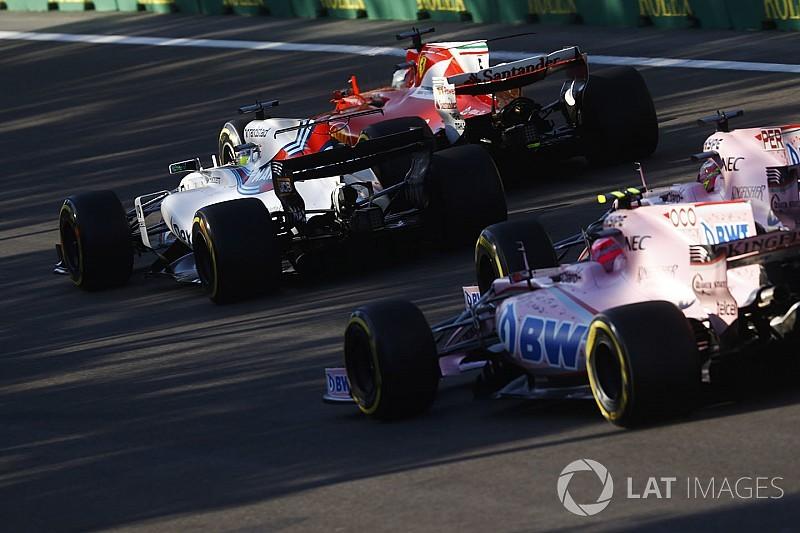 """L'accrochage Pérez/Ocon, """"inacceptable"""" pour Force India"""
