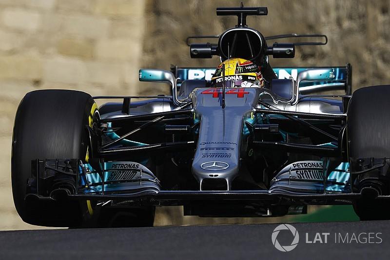 """Hamilton: """"Sabíamos que íbamos a sufrir con los neumáticos"""""""