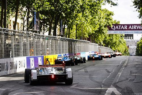 La grille de départ de l'E-Prix de Paris