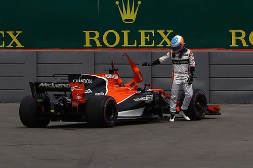 """Alonso says Friday """"totally wasted"""" after engine problem"""