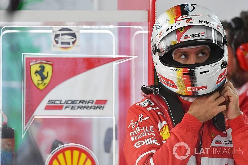 """Com primeira fila garantida, Vettel diz ter """"arriscado tudo"""""""