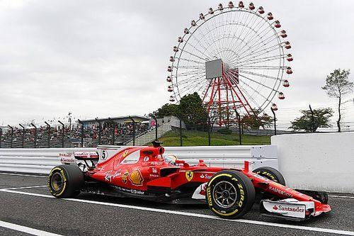 Japanese GP: Vettel heads Hamilton in opening practice