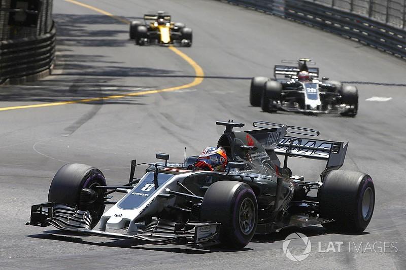 """Magnussen : """"Dans un bon jour"""", Grosjean est plus rapide que Button"""
