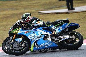 """Rins: """"Desde hace varias carreras me siento muy bien con la Suzuki"""""""