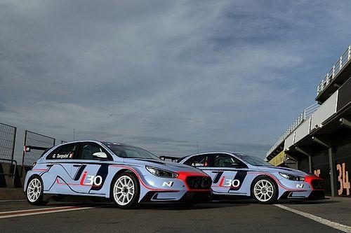 Tarquini and Menu to give Hyundai TCR debut