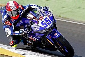 Galang Hendra jalani tes World Supersport 300