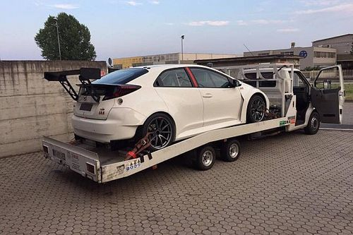 Una nuova Honda Civic dalla JAS per Attila Tassi
